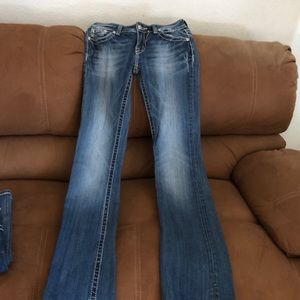 Miss Me's Horseshoe Jeans, Rare Find